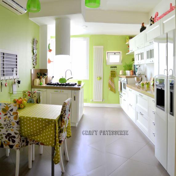 La cucina di craft patisserie con le sedie vestite d for Sedie vestite
