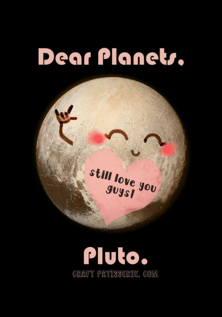 """Pluto love"" Digital art by CraftPatisserie"