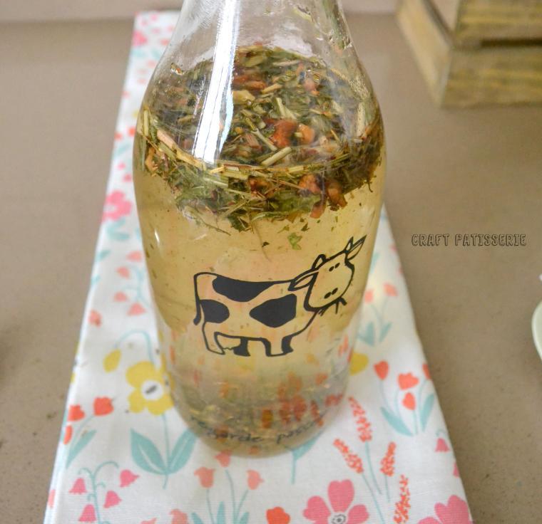 herbal tea, cold tea, homemade