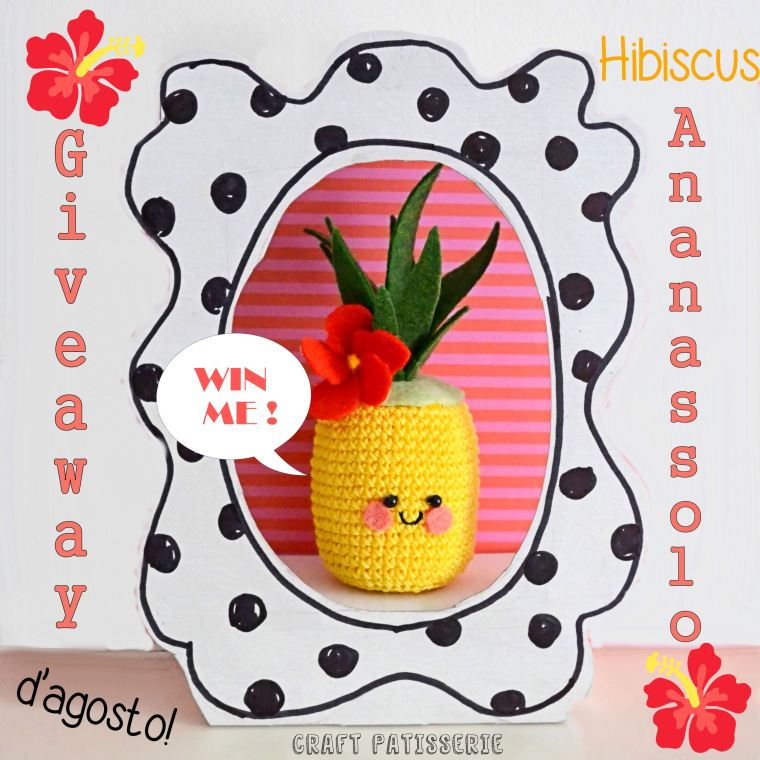 Summer 2015...win an Hibiscus ANANASSOLO! IG giveaway by CraftPatisserie