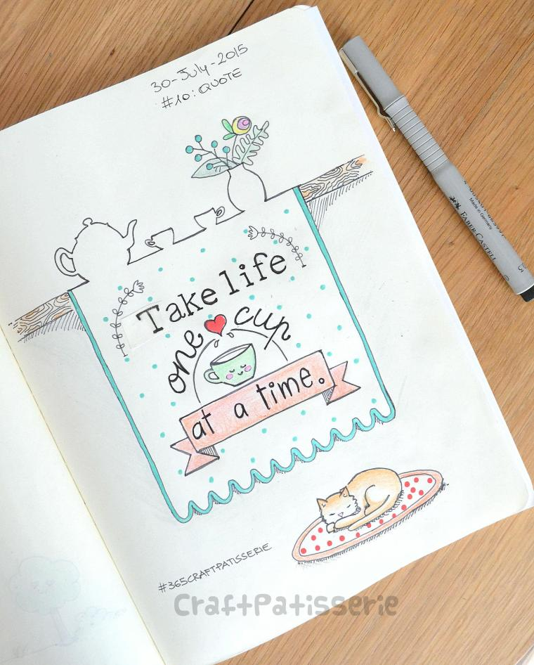 Quote  illustration by craftPatisserie