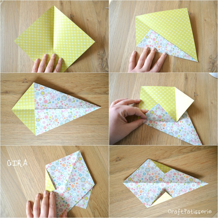 Paper diy: inspire your party! Origami icecream tutotial 1