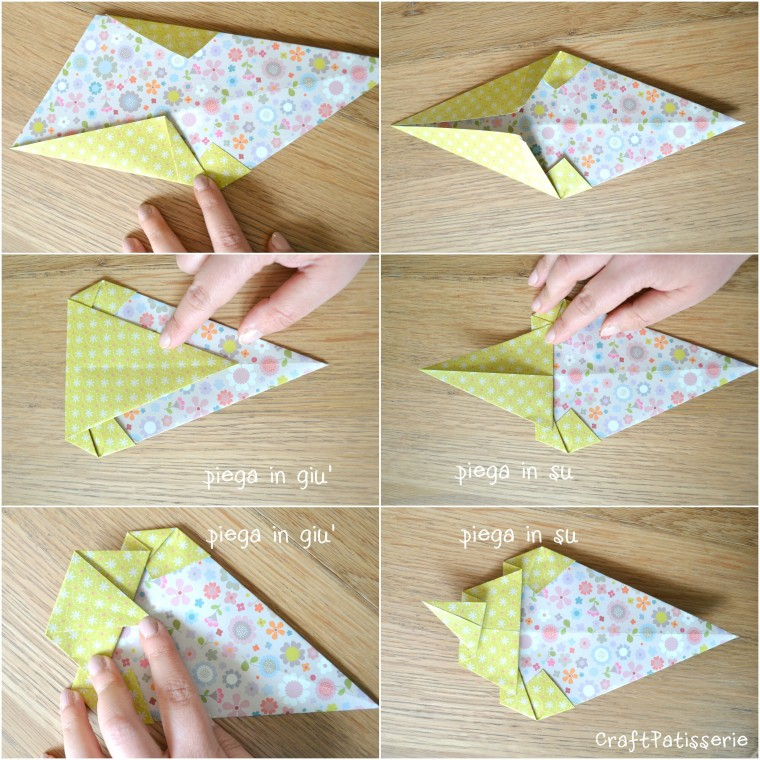 Paper diy: inspire your party! Origami icecream tutotial 2
