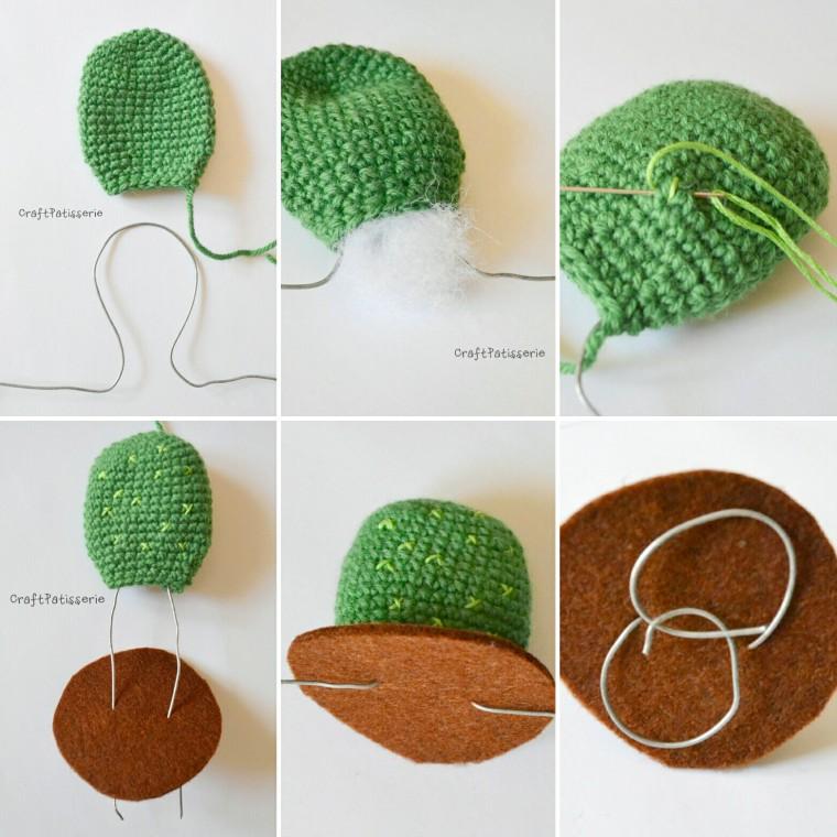 DIY free pattern: amigurumi Opuntia da CraftPatisserie